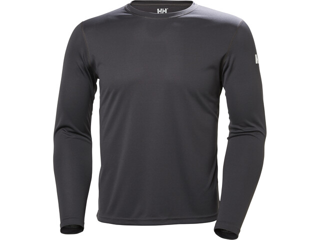 Helly Hansen Tech Crew Shirt Men Ebony